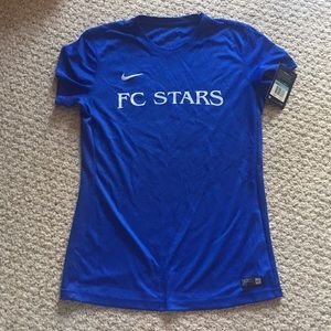Nike soccer jersey FC STARS club shirt